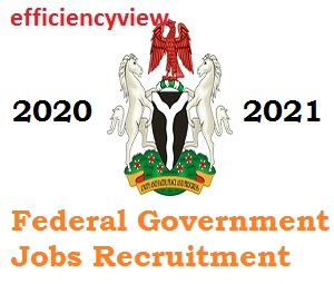 Photo of Online Recruitment Jobs in Federal Government of Nigeria 2020/2021 for interested applicants Nationwide