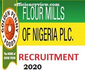 Flour Mills of Nigeria Latest Recruitment 2020