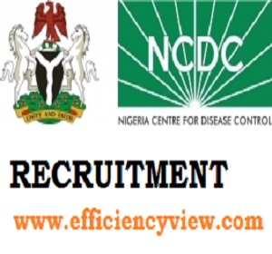 Photo of Nigeria Center for Disease Control (NCDC) Recruitment 2020/2021 apply here