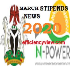 Photo of Npower Stipends for March 2020 Payment: see date to receive stipend/salary