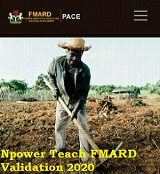 Photo of Npower Teach FMARD Validation Registration 2020/2021 apply here