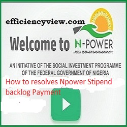 Photo of How to resolves Npower Stipend backlog Payment issues: see Npower support team reply on disengagement of Batch A Beneficiaries