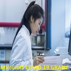 Microsoft AI for Health COVID-19 Grants Application Form 2020/2021