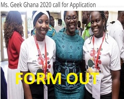 2020 MS GEEK Ghana Competition for young Ghanaians