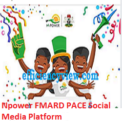 Photo of Npower FMARD PACE Social Media Platform online for Npower Agro/Teach/Health successful enumerators