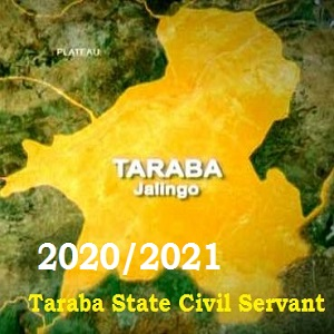 Taraba State Civil Service Recruitment Application Form Portal 2020-2021