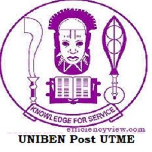 Photo of UNIBEN Post UTME Admission Form login portal www.uniben.edu