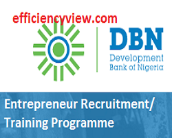 Photo of Apply for 2020 Development Bank of Nigeria Entrepreneur Recruitment/ Training Programme