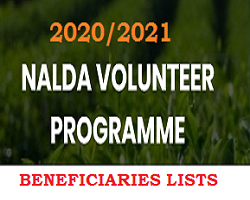 Photo of NALDA Volunteer List of Shortlisted Candidates 2020/2021 for Interview /Screening Test check here