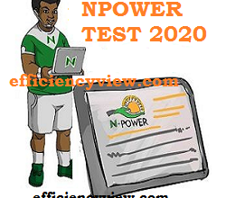 Photo of Npower Recruitment Batch C Assessment Test online 2020/2021 dates and time