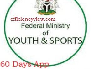 Photo of Federal Ministry of Youth and Sports 60 Days App Development Challenge 2020 for N1 Million Wining Prize Download Form here